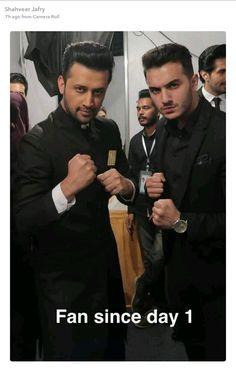 Shahveer jafry & Atif Aslam