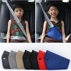 Seat-Belt-Adjust-Pad-For-Kids-Repositions-Seat-Belt-For-a-Comfortable-Fit-Red