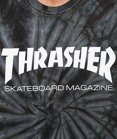 8a7241b4ea2e Thrasher Skate Mag Spider Dye T-Shirt