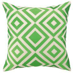 Trina Turk Pillow Embroidered Linen Merced Green @Layla Grayce