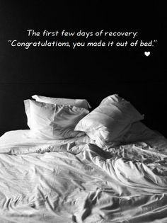This is sadly true.  It takes about three days in rehab to do anything but eat and sleep, and eating is optional...
