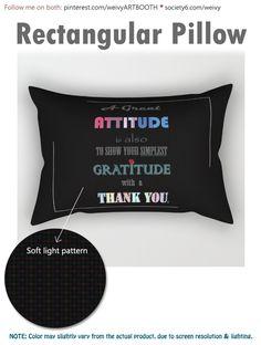 Gratitude ~ Xmas Spirit Quote Rectangular Pillow by weivy Lumbar Pillow, Throw Pillows, Spirit Quotes, Face Towel, Presents For Friends, Good Cause, Poplin Fabric, Hand Towels, Accent Decor