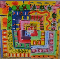 Cooperative Squares for Kindergarten Social Studies