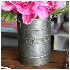 Porte Ustensiles Rétro Cuisine Déco Campagne Rétro Vintage Pots, Deco Retro, Utensil Holder, Decoration, Vases, Jar, Home Decor, Boutique, Grey