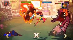 """2D animation promo for''Juggernaut Champions"""". Done in Adobe Flash by Ivan Boyko"""