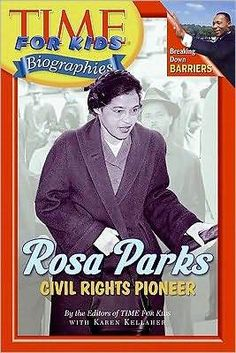 Time For Kids: Rosa Parks: Civil Rights Pioneer (Time for Kids Biographies) Collins Publishers Rosa Parks Pictures, Third Grade Books, Cc Cycle 3, Social Studies Activities, Time Kids, Magazines For Kids, Reading Levels, Women In History, Black History