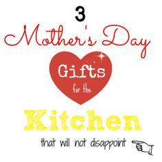 3 Mother's Day Gifts that won't disappoint! http://writedge.com/3-mothers-day-gifts-that-wont-disappoint/
