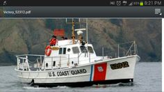 "US Coast Guard 52 ft motor life boat ""Victory """