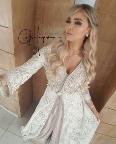 Visit the post for more. Arab Fashion, Muslim Fashion, Traditional Fashion, Traditional Dresses, Moroccan Dress, Arabic Dress, Caftan Dress, Hijab Dress, Afghan Dresses