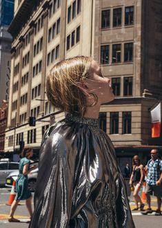 WHAT WE WANT on CHRONICLES OF HER | Medowlark gold hoop earrings