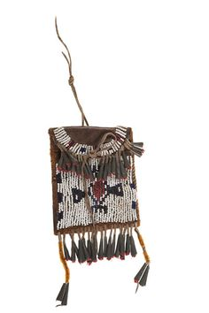 Sioux Beaded Hide Strike-a-Lite (4/4/2014 - American Indian Art: Live Salesroom Auction)