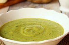 Velouté de courgettes au Boursin WW, recette d'un savoureux velouté onctueux qui associe la douceur des courgettes et la saveur du Boursin.