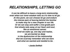 Cheater Letting Go Of A