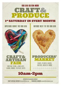 Craft market poster