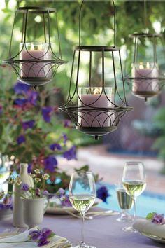 Olhem que lindas as inspirações da Carol Celico para decoração de arranjos com velas! Corre pro blog!