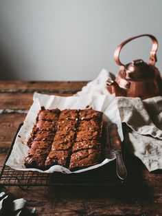 Top 10 Tips For Getting Children To Eat Healthy Food - Healthy Living Land Slow Cooker Desserts, Just Desserts, Dessert Recipes, Beste Brownies, Brownie Recipes, Chocolate Desserts, Let Them Eat Cake, No Bake Cake, Espresso Brownies