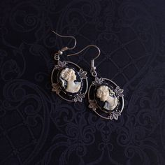 A personal favorite from my Etsy shop https://www.etsy.com/ca/listing/503716335/antique-cameo-earrings-antique-earrings