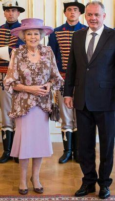 Princess Beatrux Meets With