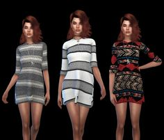 Leo 4 Sims: Bely Dress • Sims 4 Downloads