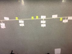 When my 4th graders were having trouble putting fractions, mixed numbers, decimals and improper fractions on number lines on paper we decided it would be fun and helpful to make a giant one to play on. The cards were a whole class activity. The neon post it's are my individual student assessments I did while my class worked at centers.