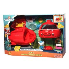 Fisher-Price Octonauts Launch & Rescue Gup X Playset vehicle Sound Kids Fun Toy in Toys & Hobbies | eBay