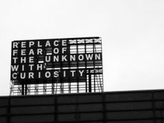 curiosity billboard