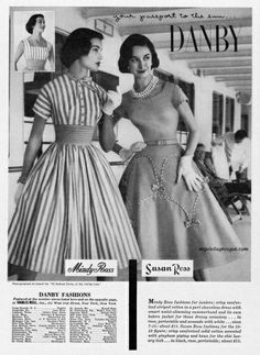 Danby Fashions 1955  - what? we made clothes.  Just kidding #danby