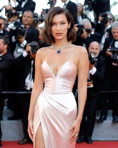 Shine bright like a diamond #BellaHadid!  #Cannes  via TEEN VOGUE MAGAZINE OFFICIAL INSTAGRAM - Celebrity  Fashion  Haute Couture  Advertising  Culture  Beauty  Editorial Photography  Magazine Covers  Supermodels  Runway Models