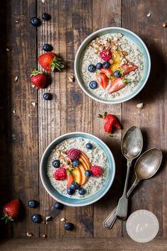 Summer Berry Overnight Oats.   Make breakfast like a boss and take back your mornings. Find out how  www.wildeorchard.co.uk