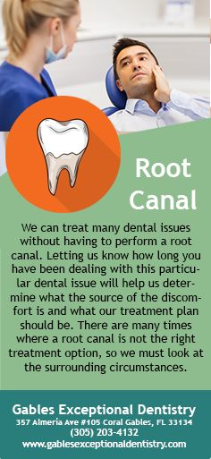 We can treat many dental issues without having to perform a root canal. Letting us know how long you have been dealing with this particular dental issue will help us determine what the source of the discomfort is and what our treatment plan should be. #Dentist #RootCanal #Cavity #GentleDentist #DentalAnxiety