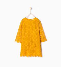 ZARA - NIÑOS - Vestido crochet