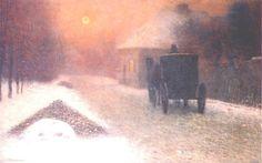 Na ztracené vartě, 1906 by Jakub Schikaneder .