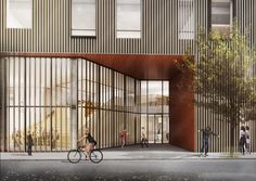 Gallery of C.F. Møller Wins Competition for Active-Learning School in Copenhagen - 7