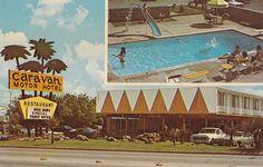 Caravan Motor Hotel on the Bankhead in Arlington Texas