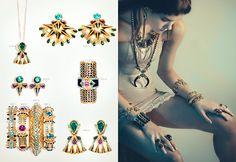 CLAUDIA ARBEX S/S 15 on Behance #jewelry