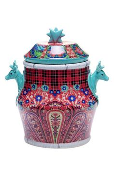 POETIC WANDERLUST Tracy Porter® For Poetic Wanderlust® 'Folklore Holiday' Cookie Jar available at #Nordstrom