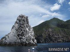 Diamond Rock off the island of Saba was an amazing dive!