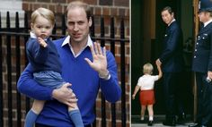 Royal baby birth has Prince William and George follow in Charles' footsteps