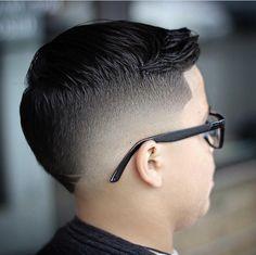 Boy Haircuts Short, Baby Boy Haircuts, Haircuts For Curly Hair, Cool Haircuts, Haircuts For Men, Cool Hairstyles For Men, Hairstyles Haircuts, Fohawk Haircut Fade, Clean Cut Haircut