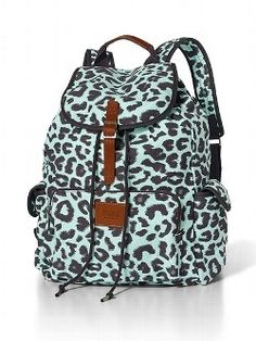 Empyre Emily Leopard Print Rucksack Backpack | Trips, Back to and ...