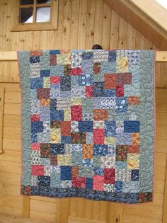 Best of Morris. Quilt for son.