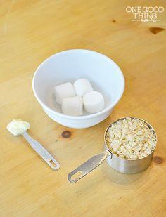 Single Serve Rice Krispie Treats!  {Gluten-Free}