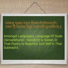 Sanskrit Language, Sanskrit Quotes, Poetry, Motivation, Photo And Video, Videos, Instagram, Poetry Books, Poem