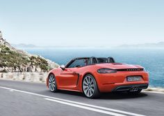 New Porsche 718 Boxster S #automotive #porsche