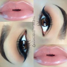 This is my go-to, everyday look :) love it! Natural smokey eye,  MAC LIPSTICK CREME CUP.