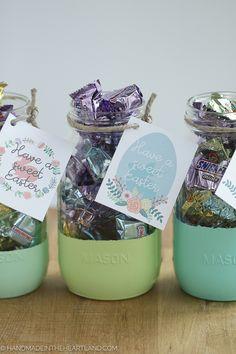 Easter Mason Jar Gifts