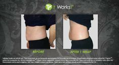 Tired of that little bit extra hanging around? Tighten it up with an It Works! wrap today! Contact ME  to find out how you can get your hands on this hot product!