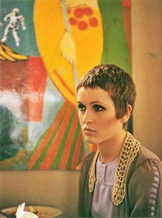 Julie Driscoll by Jan Olofsson, 1968.