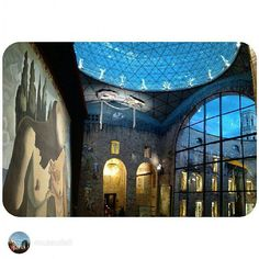 The #Dalí Theatre-Museum, in #Figueres, is home to a wide spectrum of works that recounts the artistic trajectory of the Empordà county artist, ranging from his first artistic experiences (impressionism, futurism, cubism, etc.) and his surrealist creations, to  the last years of his life. Picture by @museudali (Instagram) City Break, Futurism, Cubism, Dali, Impressionism, Spectrum, Theatre, Museum, Photo And Video