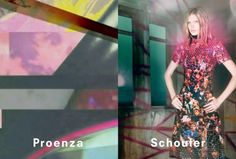 Proenza Schouler Spring Summer 2013 by David Sims